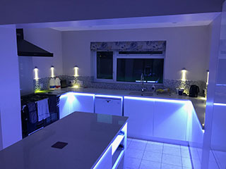 Kitching lighting design & install