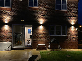 Domestic Garden Lighting design & Install project